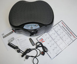 Xtreme Crazy Fit Massage Oscillating Vibration Plate