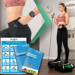 Bluefin Fitness 4D Powerful Vibration Plate